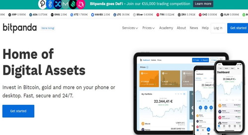 Bitpanda pagina web
