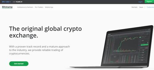 Bitstamp pagina web