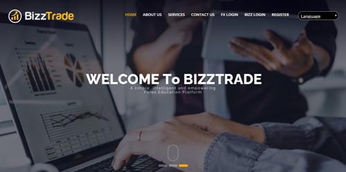 Bizz Trade pagina web