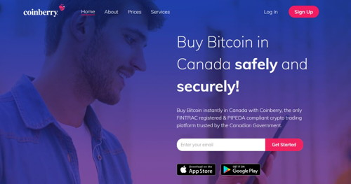Coinberry pagina web
