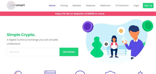 Coinsmart pagina web