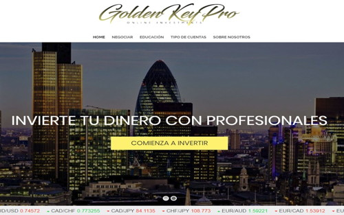 Golden Key Pro pagina web