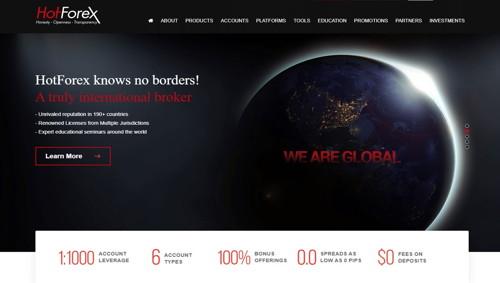 Hotforex pagina web