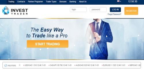 Invest Trader pagina web