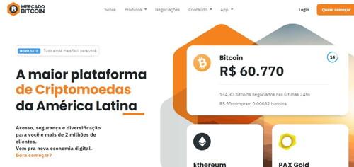 Mercado bitcoin pagina web