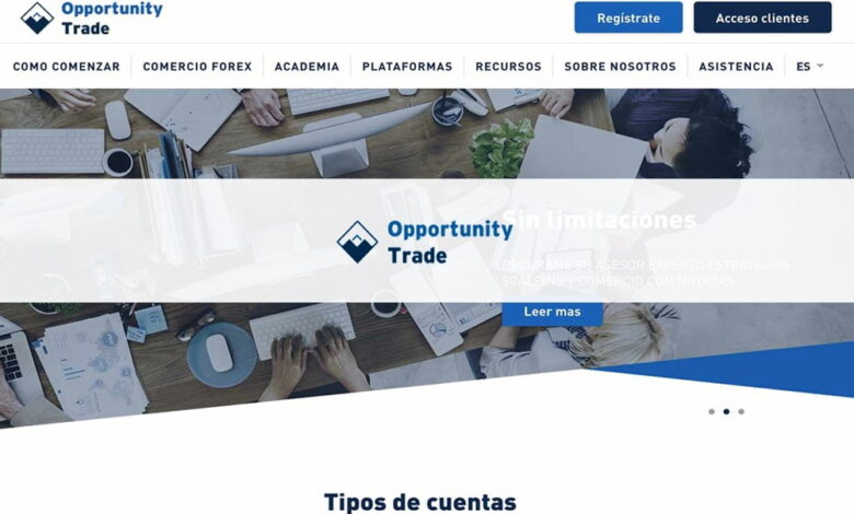 Opportunity trade