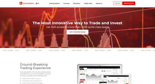 Zurichbanc pagina web