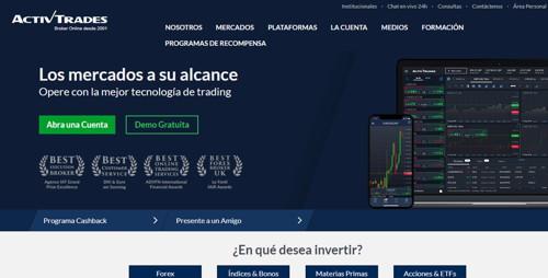 Activ Trades pagina web