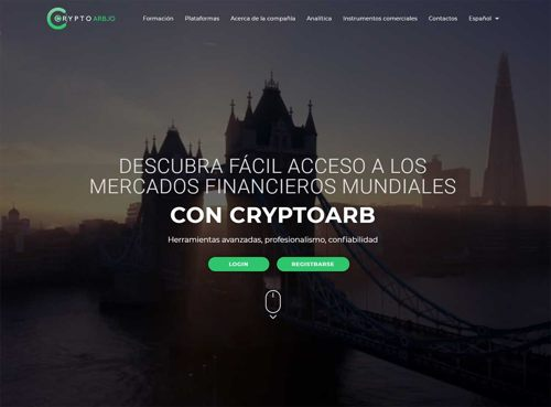 Broker Cryptoarb