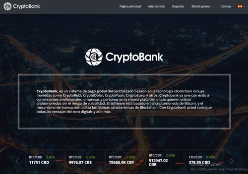Crypto Bank revisión