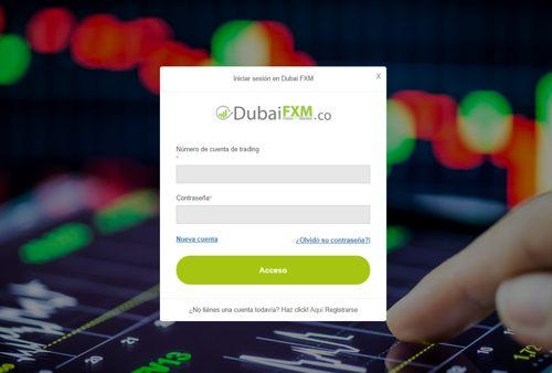 Dubái FXM revisión