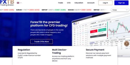 ForexTB pagina web