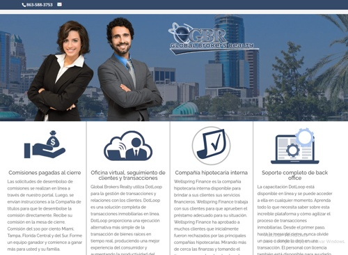 Global Brokers Realty Inc revision