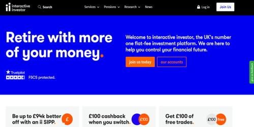 Interactive investor pagina web
