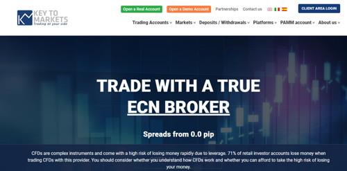 Key to markets - KTM pagina web