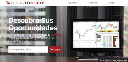 Ninja trader pagina web