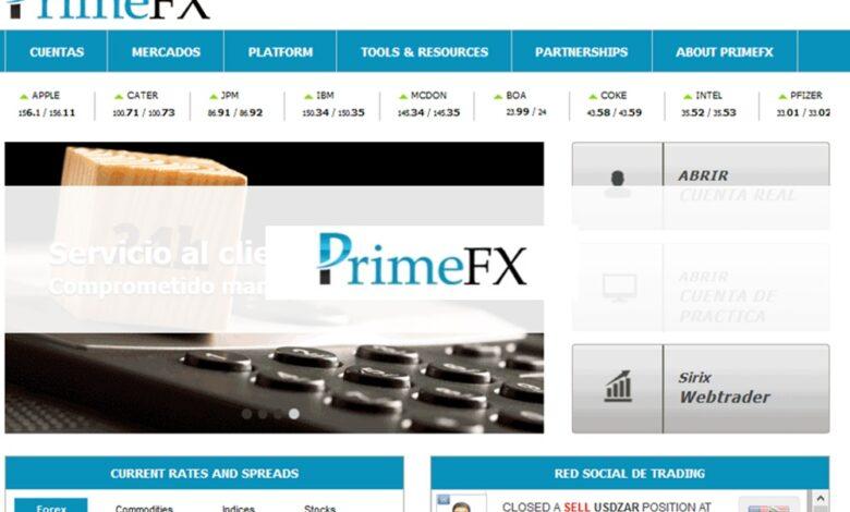 Prime FX – PFX Bank revision