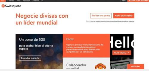 Swissquote pagina web