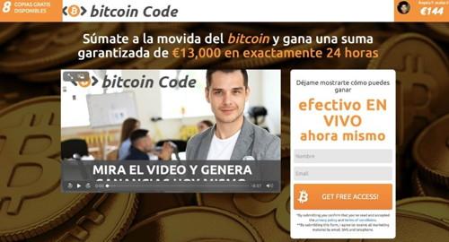 bitcoincode pagina web