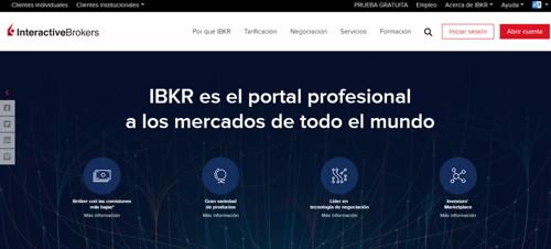 interactive brokers pagina web