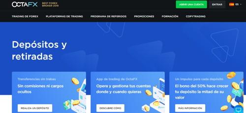 octafx pagina web