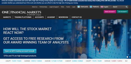 one financial pagina web