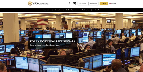 vfx capital pagina web