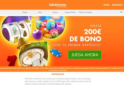 Botemania Casino revision
