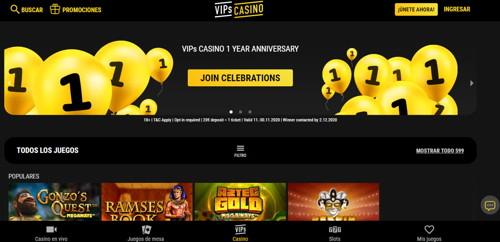 Casino Vip página web