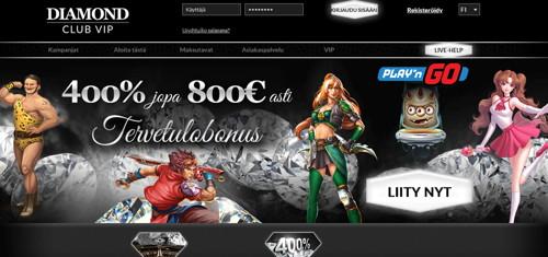 Diamond club vip página web
