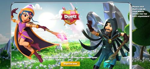 Duelz página web