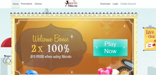 Manhattan Slots casino página web