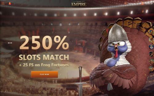Slots Empire revision