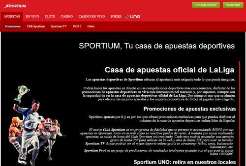 Sportium revision
