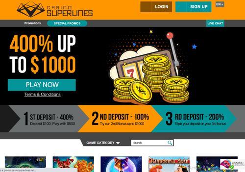 Superlines Casino revision