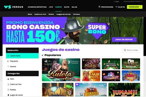 Versus Casino revision