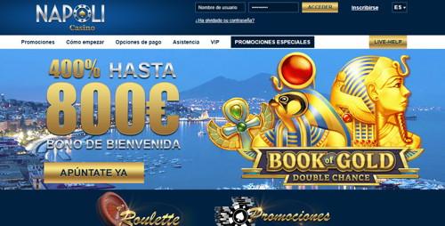 casino napoli página web