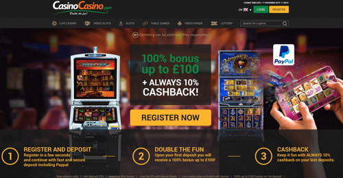 casinocasino página web