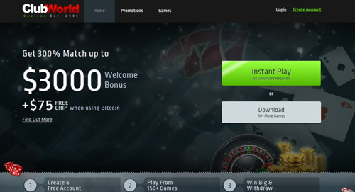 club world casino página web