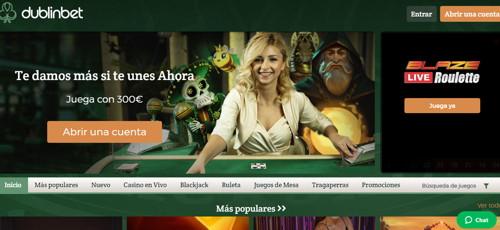 dublinbet casino página web